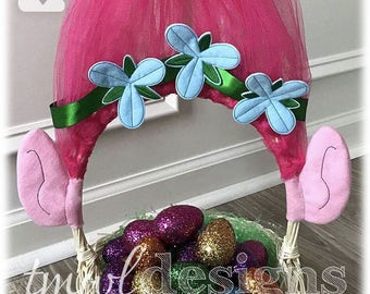 Troll Ear Slider Digital Design Files - Easter Basket Decoration