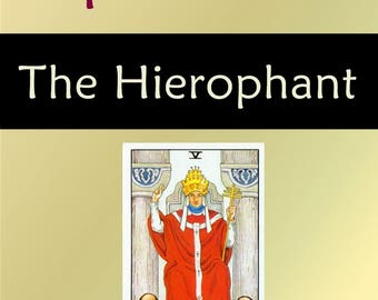 The Hierophant (Tarot Explorations Card-by-Card Book 6)