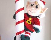 North Pole Christmas Tree Topper Elf North Pole Santa Theme Christmas Tree Top Elf Tree Topper