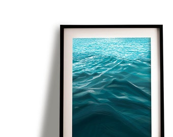 "A4 ""Waves"" print - original geometric drawing"