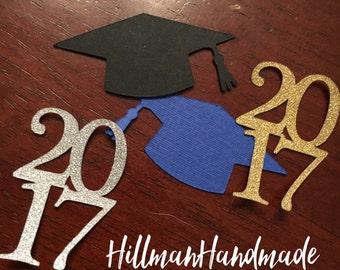 Graduation Confetti, Class of 2017 Table Confetti, Table Confetti, Graduation Table Confetti