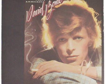 Vintage 70s David Bowie Young Americans Album Record Vinyl LP
