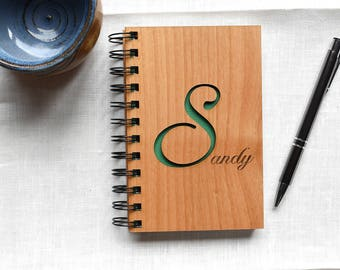 Gift for Her Personalized Gift Notebook. Wedding Party Gift. Bridesmaid Gift. Best Friend Gift Spiral Notebook.