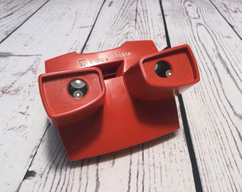 Vintage Red View Master. Gaf View-Master.