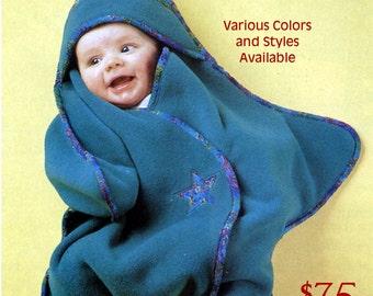 Star Baby Fleece Bunting