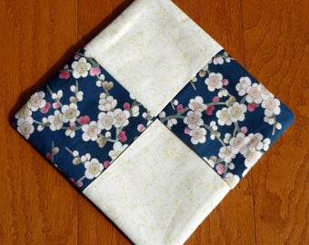 Pot Holder - Cherry Blossoms