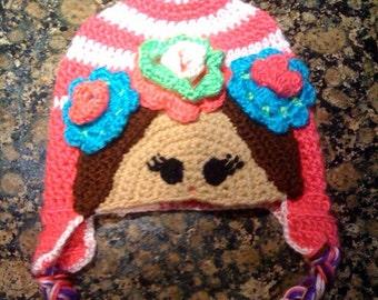 Matrioshka Crochet Beanie