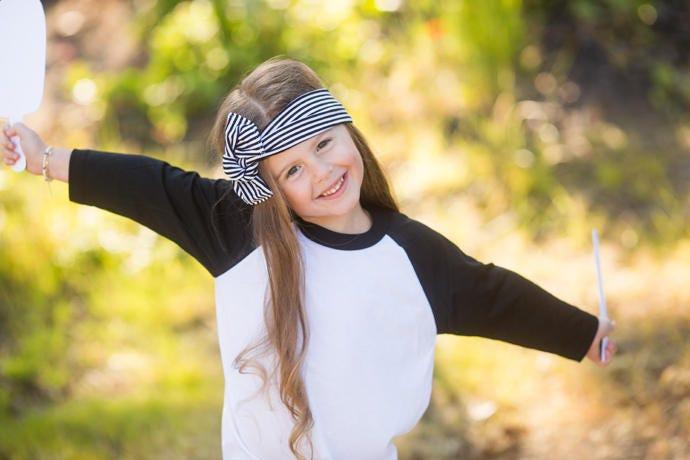 Top Knot Headband Infant Headband Baby Head Wraps Toddler