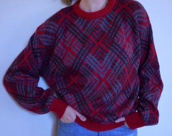 SALE Vintage Benetton Sweater Made in Italy
