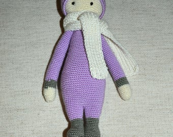 Crochet Doll, Handmade Doll