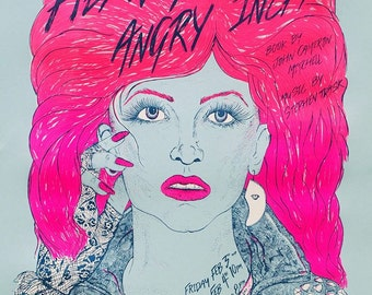Hedwig and the Angry Inch // silk screen poster