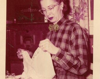 Vintage Photo..Merry Christmas Sweetheart, 1950's Original Found Photo, Vernacular Photography