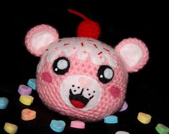 Valentine's Day Cupcake Bear