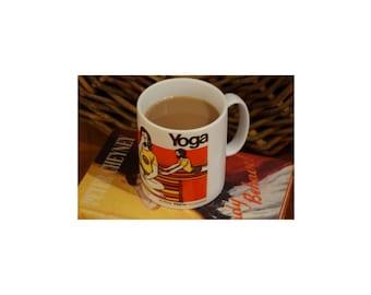Yoga Mug, Novelty Mug, Funny Mug, Office Mug, New Job Mug, Geek Mug, Nerd Mug, College Student Mug, Meditation Mug, Coffe Mug, Coffee Cup