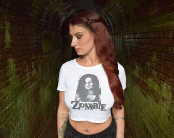 Rob Zombie, White Zombie, Metal, 666, Crop Top, Alternative Clothing, Womens Clothing