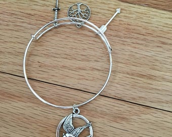 Hunger Games Expandable Bracelet