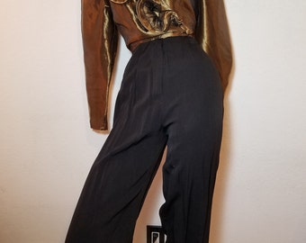 FREE  SHIPPING   Vintage Cache  Jumpsuit