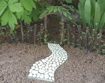 Garden Path and Archway Fairy Garden Miniature Garden