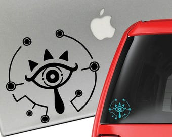 Zelda Breath of the Wild Sheikah Vinyl Decal for Laptop or Car