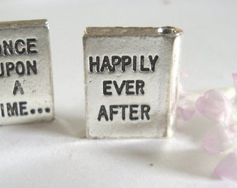 Once Upon a Time Book Charm, Happily Ever After Charm,Book Charm,Fairytale charms