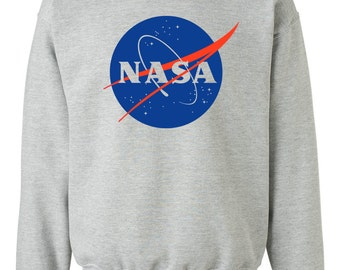 NASA Sweatshirt - Gray Meatball Sweatshirt S, M, L, XL