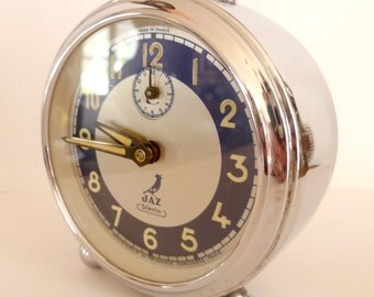 Vintage French Silentic JAZ 1950's authentic Alarm