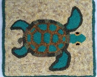 Sea Turtle Rug Hooking  Kit