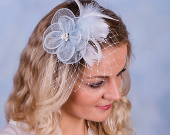 Fascinators-bridal hair accessories wedding flowers jewelry bridal hairstyle wedding PRE1
