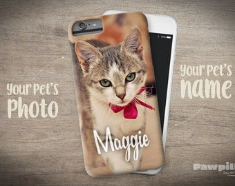 Cat iPhone 7 Plus Case - Custom Pet iPhone 7 Plus Case - Personalized Cat iPhone 6s Case - Cat iPhone 6 Plus Case - Custom Pet iPhone 7 Case