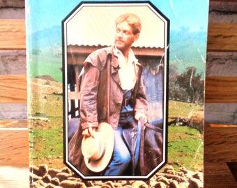 Vintage Penguin paperback DH Lawrence The Boy in the Bush society erotic romantic novel tragedy romance Australia Australian adventure