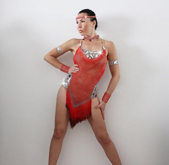 Super Abito gare balli latino americani balli caraibici salsa XM86