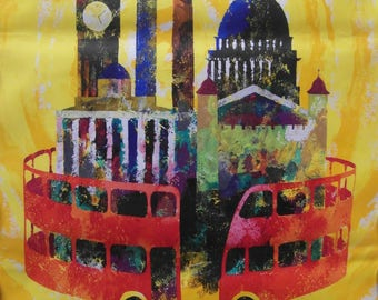 Original 1959 London Transport Poster 'See London on a London Transport Sightseeing Bus'