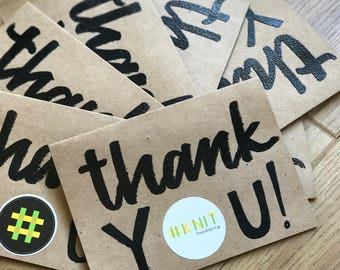Thank You Cards - Custom