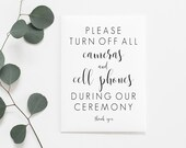 Unplugged Wedding Printable. Unplugged Wedding Sign. Wedding Ceremony Sign. Unplugged Sign. No Cell Phone Sign. Ceremony Sign. Wedding Day.