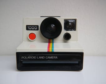 Rare Rainbowed Polaroid Supercolor 1000 Land camera - tested