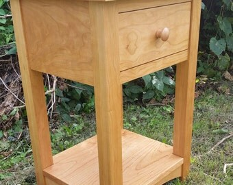 Cherry Bedside Table/Nightstand