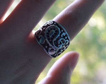 Paisley Statement Ring