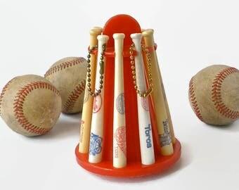 Baseball Bat Collectors Bank 1960s Vintage Louisville Slugger Bat Major League Collectible Souvenir