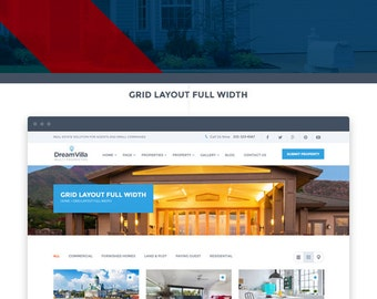 Premade Real-Estate Website Design • All Inclusive Price  • Quick Turnaround Time - Property Website - Apartment - Condo - House - Rent