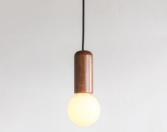 Andre Pendant Light - In Oregon Walnut