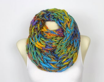 Oversized Loop Scarf Large Scarf Winter Wrap Oversized Scarf Super Chunky Scarf Knit Cowl Snood Adult Hooded Scarf Xmas Gift for Her for Mom