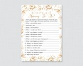 Gold Floral Baby Shower P...