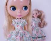 Spring Flower Dress (n.3) for Neo Blythe and Licca
