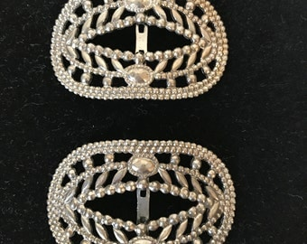 Antique Stamped Shoe Buckles