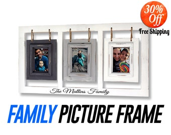 Picture frame,.picture frame set.picture frame collage.personalized picture frame.rustic frame.frames.wood picture frame (3 Picture Frame)