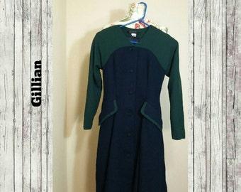 Vintage Gillian Wool Coat Size 4