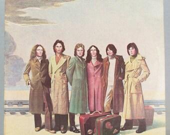 Foreigner - Self Titled Album Atlantic Records 1977 Original Vintage Vinyl Record LP