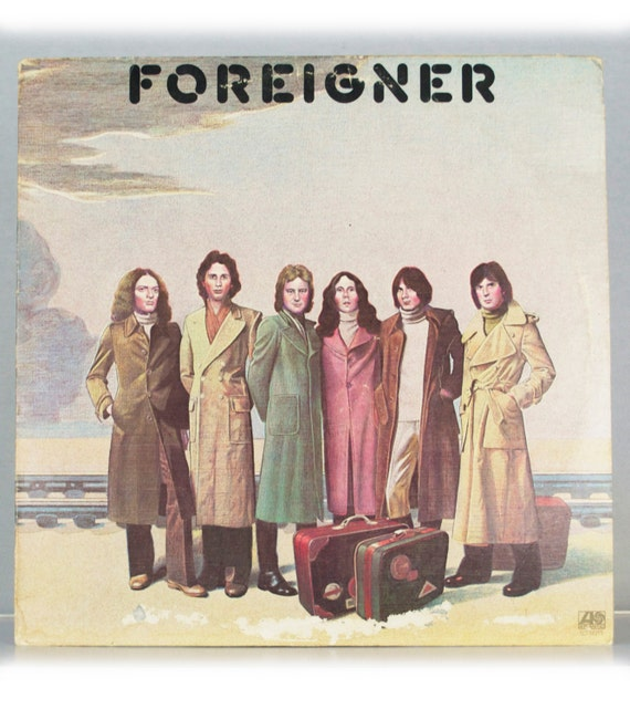 Foreigner - Self Titled Album Atlantic Records 1977 Original Vintage Vinyl Record