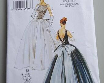 Vogue Vintage Model Pattern Original 1956 Design V8729