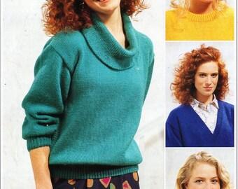 Knitting Pattern Ladies Cowl Neck Jumper : Cowl neck jumper Etsy